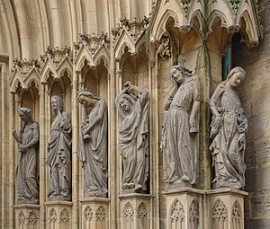 Erfurt Cathedral - The Wise and Foolish Virgins