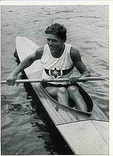 Ernst Krebs Canoe racer