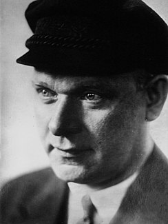 Ernst Thälmann leader of the Communist Party of Germany (KPD) during much of the Weimar Republic