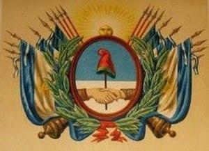 State of Buenos Aires - Image: Escudo argentino de 1835 2