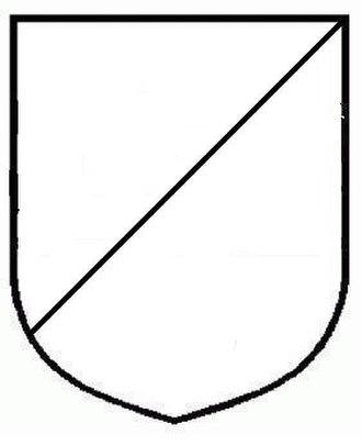 Dutch heraldry - Image: Escudo tajado