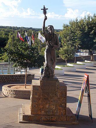 Bom Jesus da Lapa - Statue of Francisco da Soledade