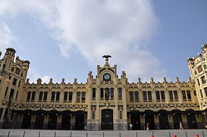 Modernisme - North Station, Valencia
