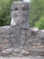Estatua prerromana en Hervás