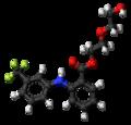 Etofenamate molecule ball.png
