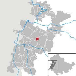 Ettenhausen an der Suhl - Image: Ettenhausen a.d. Suhl in WAK