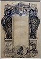 Eugéne grasset, composizione decorativa con guerrieri e la siglia della repubblica francese.JPG