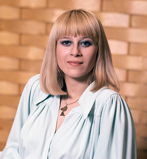 Catherine Ferry (singer) - Catherine Ferry in 1976