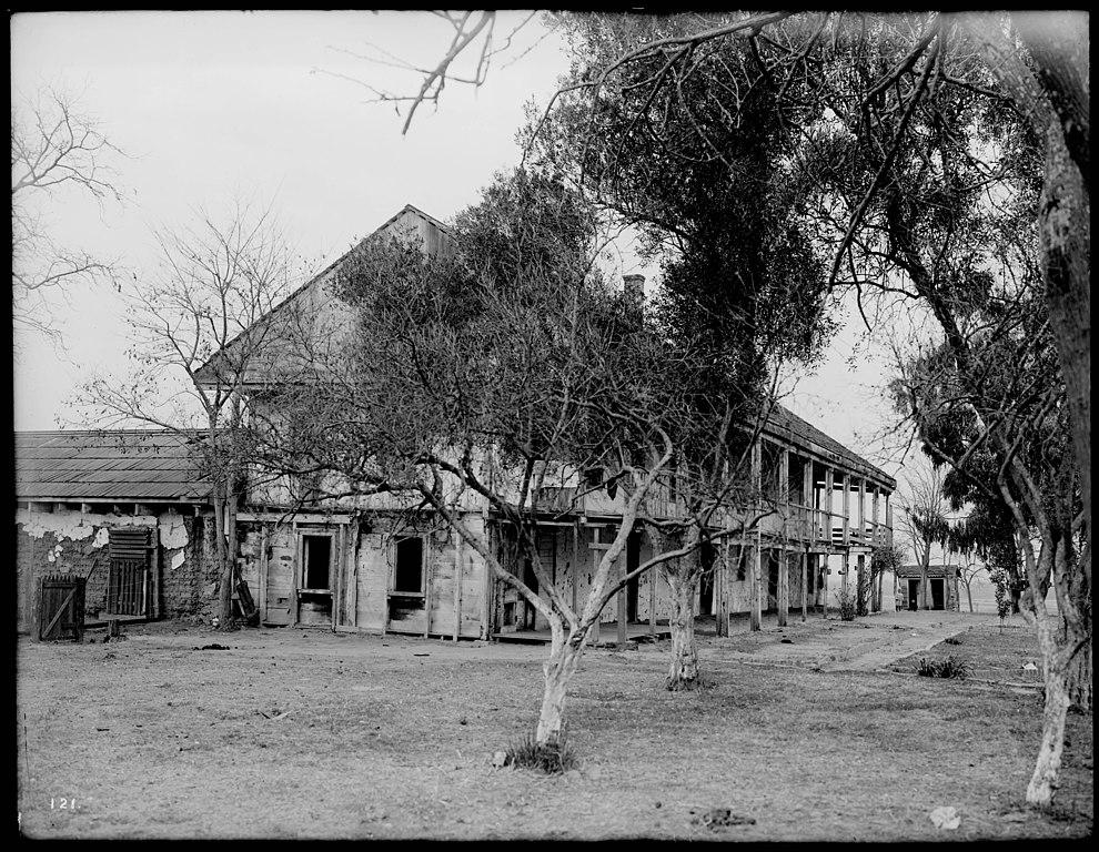 File Exterior View Of Rancho Los Cerritos Ranch House In