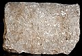 F15, Middle Persian Script, Inscribed Stone Block of Paikuli Tower.jpg