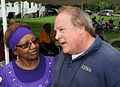 FEMA - 44447 - FEMA Official with a resident at a Attend Fund Rasing Event in Nashville TN.jpg