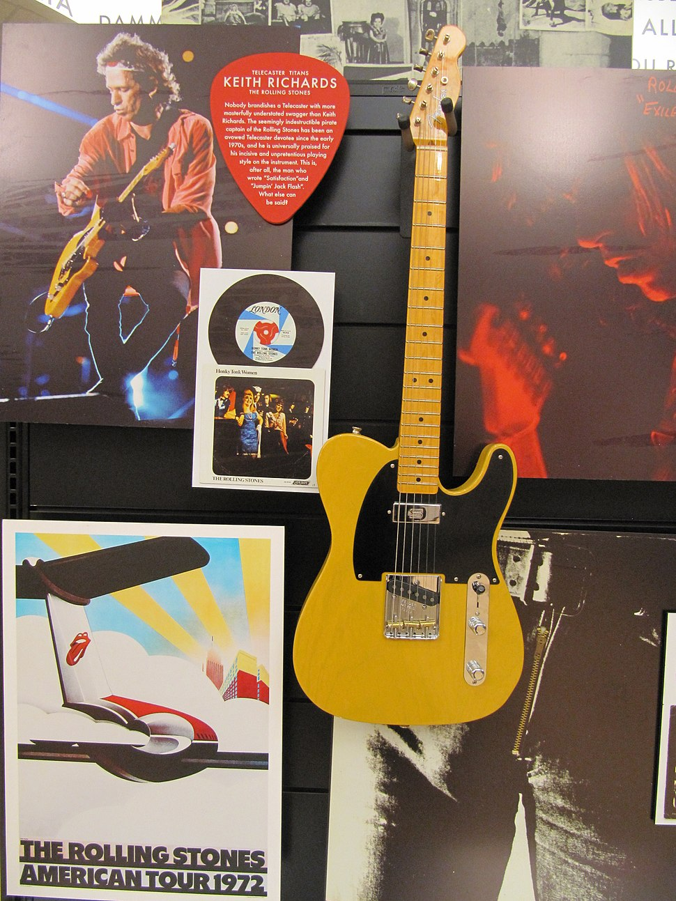 FGF museum 04. Keith Richards Telecaster