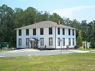 National Register of Historic Places listings in Putnam County, Florida - Image: FL Bostwick School 01