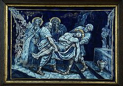 FOURTEENTH STATION Jesus is laid in the tomb.jpg