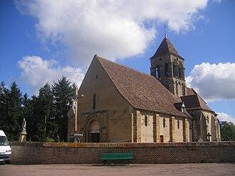 Bessay-sur-Allier - The church in Bessay-sur-Allier