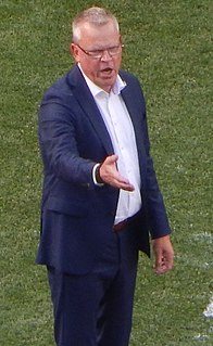 Janne Andersson football coach