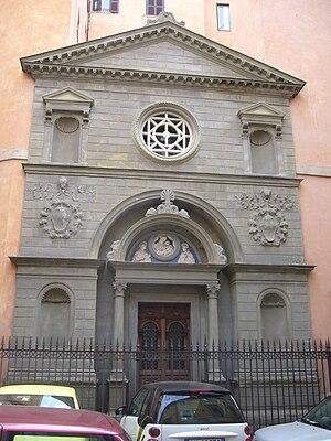 Sant'Ivo dei Bretoni - Image: Façade de Saint Yves des Bretons