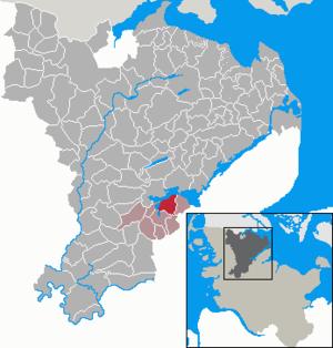 Fahrdorf - Image: Fahrdorf in SL