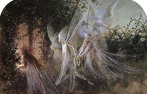 "English: ""Fairies Looking Through A Gothi..."