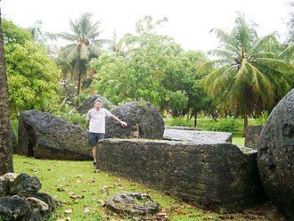 House of Taga - Fallen stones at House of Taga