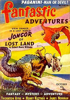 <i>Fantastic Adventures</i> American pulp fantasy and science fiction magazine