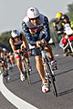 Faris Al-Sultan leading bike-group at Ironman 70.3 Austria 2012.jpg