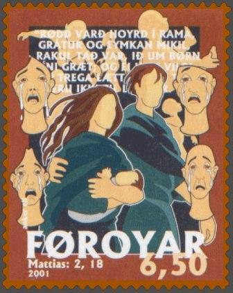 Faroe stamp 405 the scream form ramah