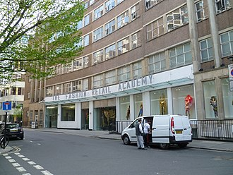 Fashion Retail Academy - Image: Fashion Retail Academy, London