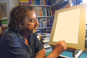 Image - A man painting an image of himself.