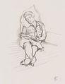 Felix Esterl - Frau auf Sofa (Schlafende Frau) - 1931.jpeg