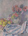 Felix Esterl - Stillleben mit Mohnblumen, Äpfeln und Tuch.jpeg