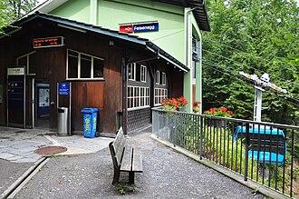 Felsenegg - Luftseilbahn Adliswil-Felsenegg (LAF) station