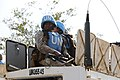 Female combat troops of South African Contingent in MONUSCO on robust foot and moblile patrols 39.jpg