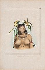Femme camaca mongoyo - Índia camacã mongoió