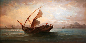 Ferdinand Bonheur - From the Marmara Sea.jpg