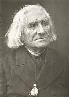 Franz Liszt im hohen Alter (1884), Fotografie von Louis Held (Quelle: Wikimedia)