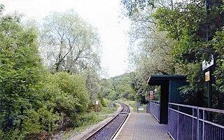 Fernhill railway station