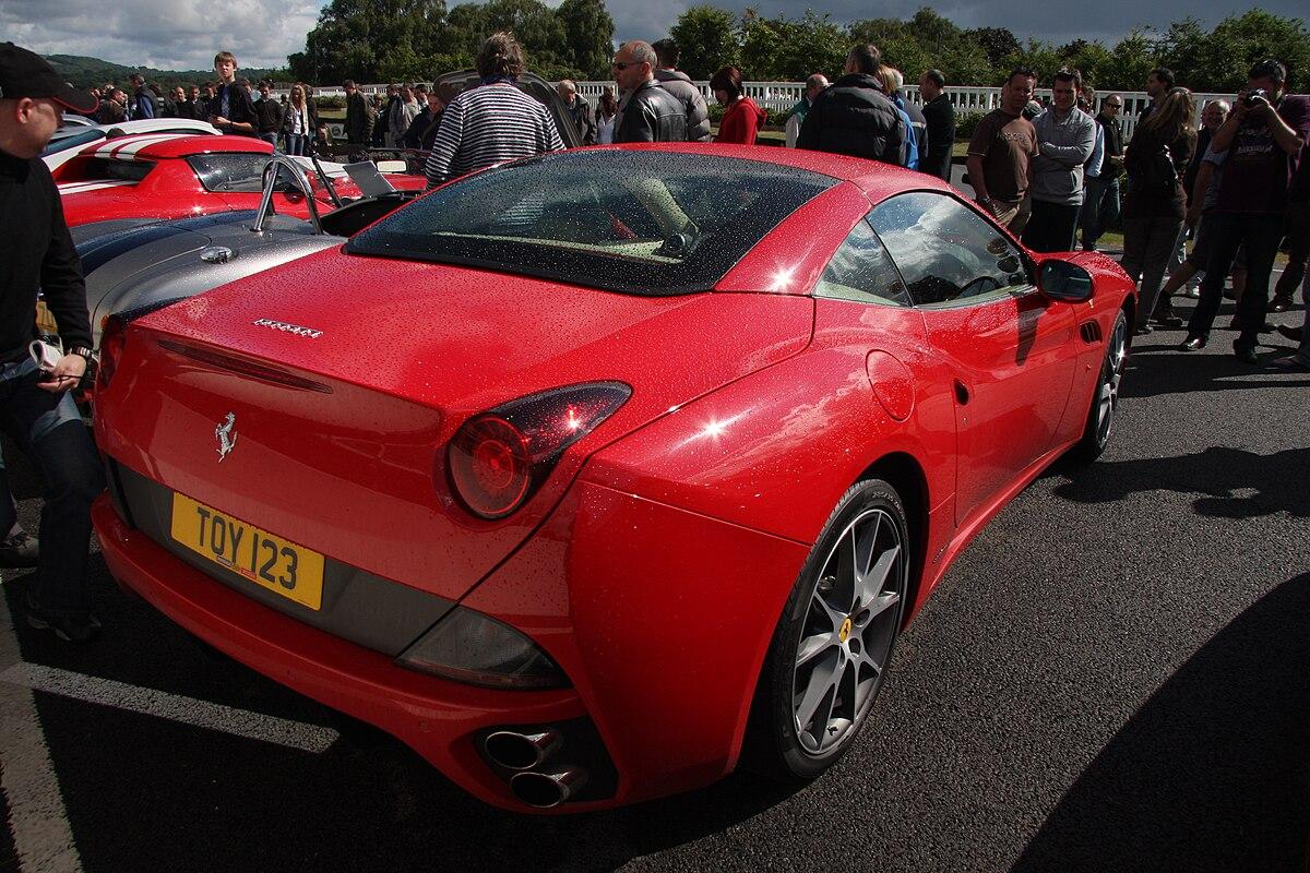 Px Ferraricalifornia Rear