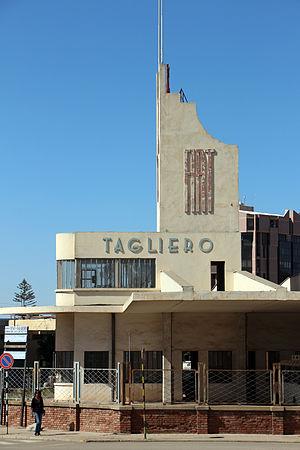 Fiat Tagliero Building - Side view