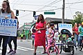 Fiestas Patrias Parade, South Park, Seattle, 2017 - 111 - supporters of city council candidates Teresa Mosqueda and Lorena Gonzales.jpg