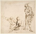 Figure studies- seated and standing men MET DP811517.jpg