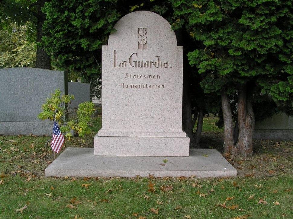 Fiorello LaGuardia Grave 1024