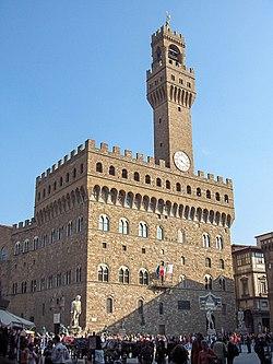 Firenze Palazzo della Signoria, better known as the Palazzo Vecchio.jpg