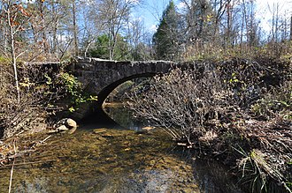 National Register of Historic Places listings in Grundy County, Tennessee - Image: Firescald Creek Stone Arch Bridge