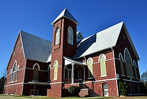 First Baptist Church (Selma, Alabama) - First Baptist Church of Selma in 2013