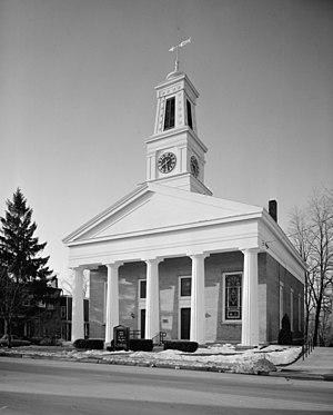 First Presbyterian Church of Ulysses - Image: First Presbyterian Church of Ulysses, East Main Street, Trumansburg (Tompkins County, New York)