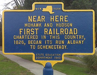 Albany and Schenectady Railroad