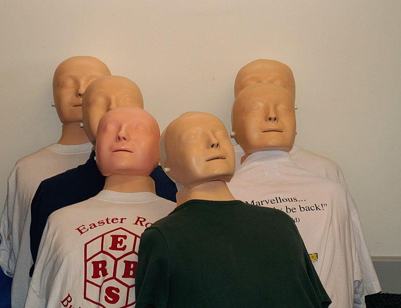 manekiny do szkolenia z pierwszej pomocy