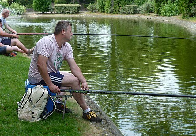 Rybárčenie na stojatej vode