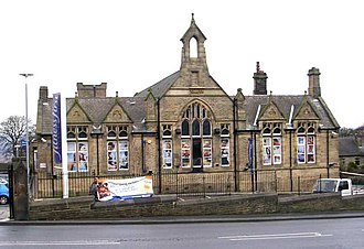 Eccleshill, West Yorkshire - The former Central Board / Hutton School (1884-2016)